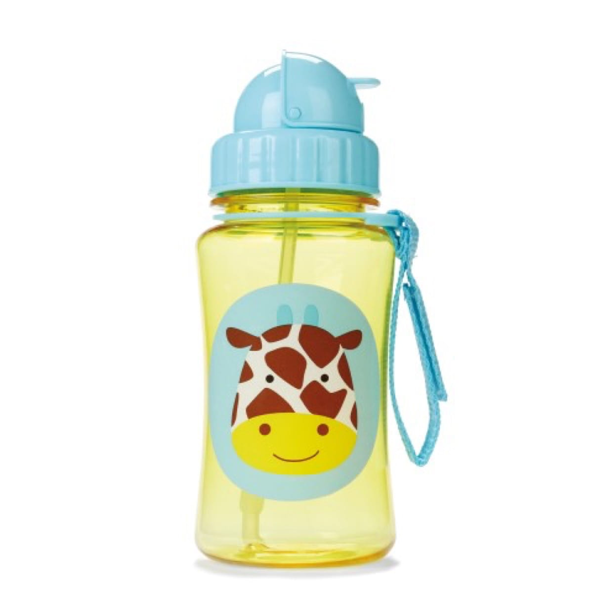 Zoo Straw Bottle Giraffe