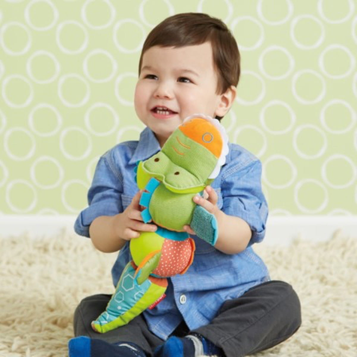 Giraffe Safari  Activity Toy Crocodile T&S