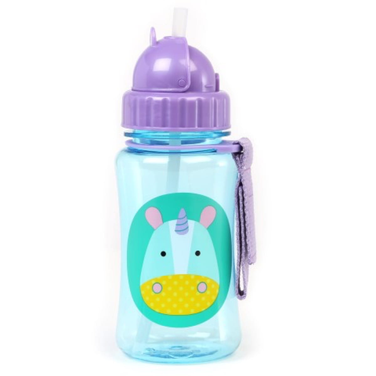 Zoo Straw Bottle Unicorn