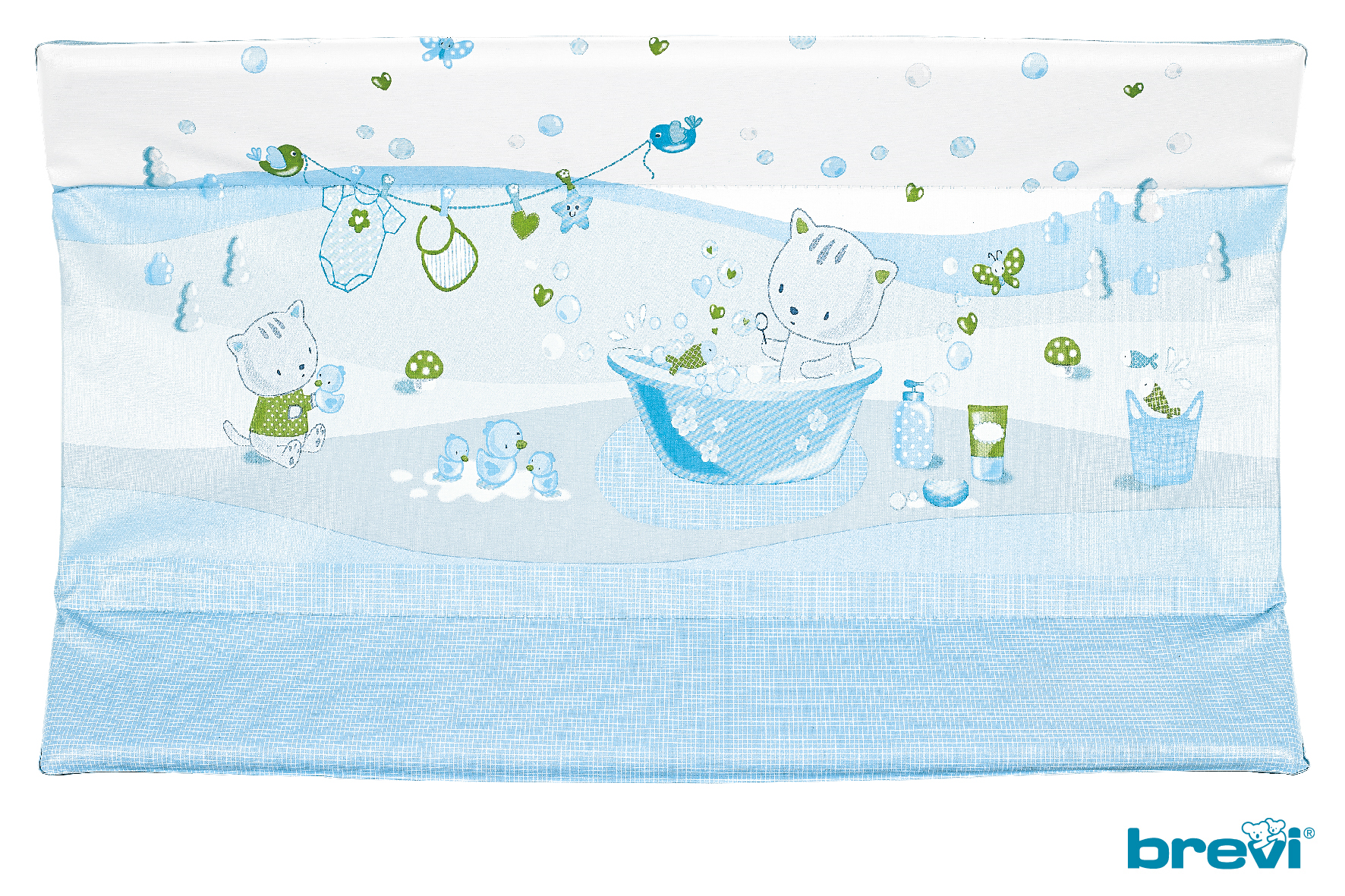 Changing Mat Idea and Olimpia Miam Plouf Blue