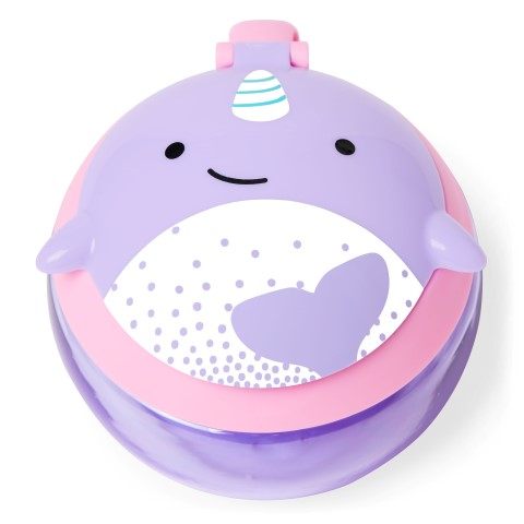 Zoo Snack Cup Narwhal