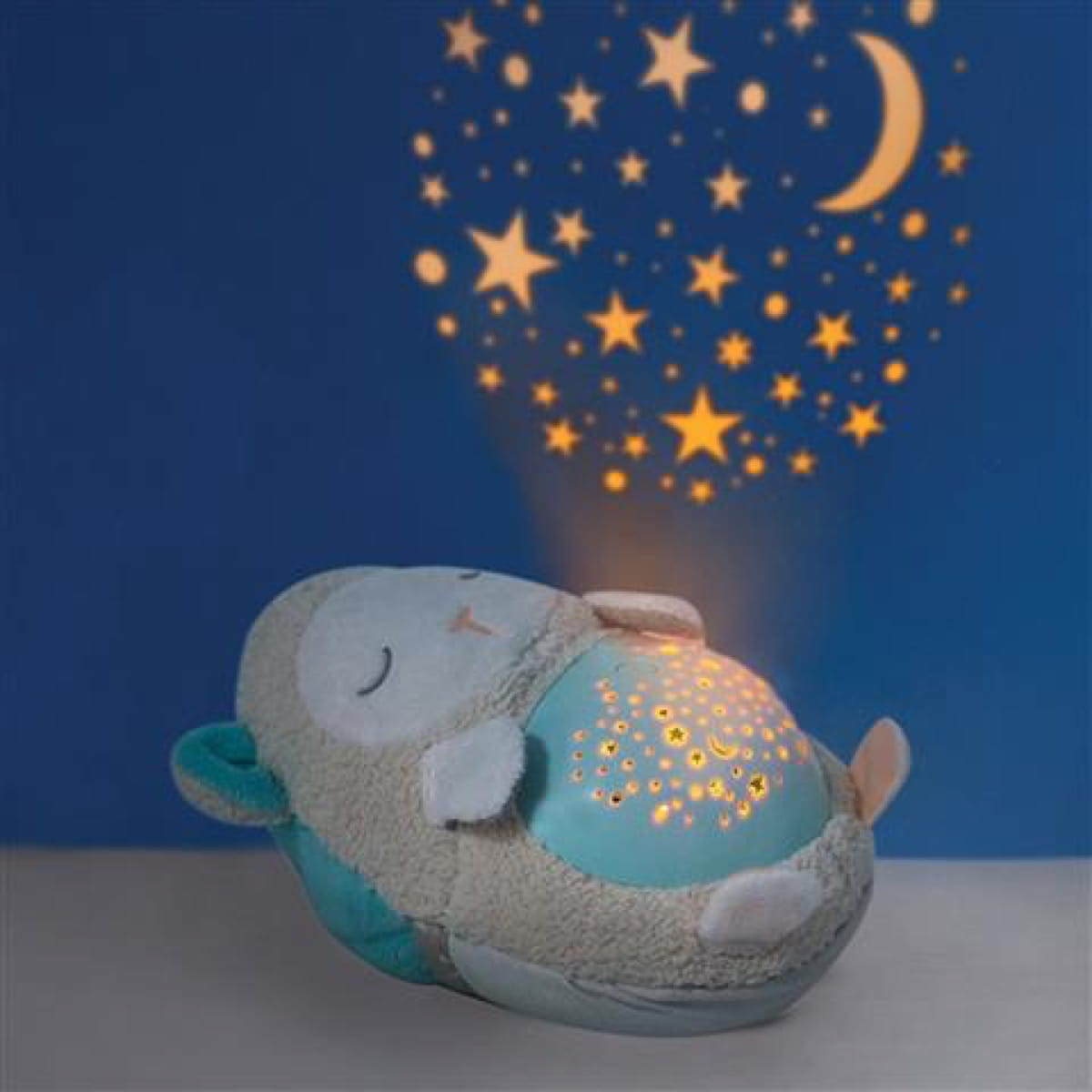 Moonlight & Melodies Hug Me Projection Soother Lamb