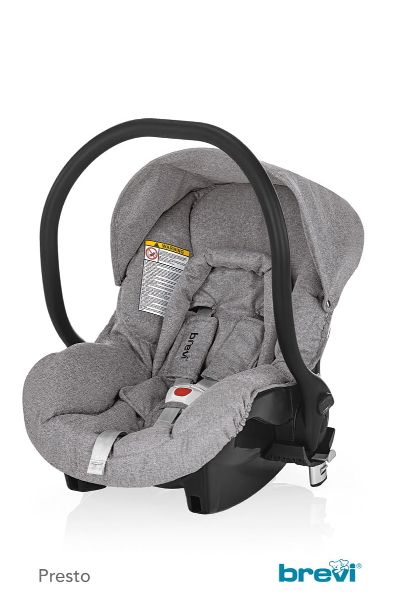 Smart Silverline Car Seat Grey Melange