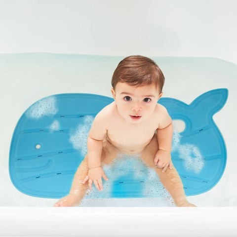 Moby Bath Mat Redesign Blue