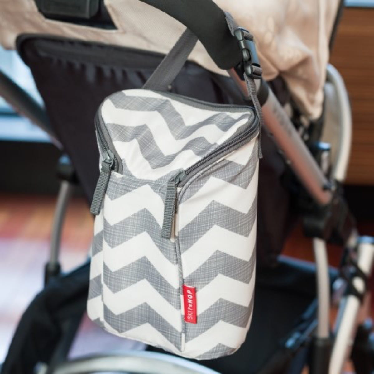 Double Bottle Bag Chevron