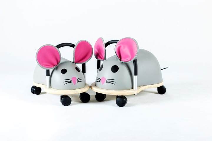 Wheely Bug Mouse Large 3-5