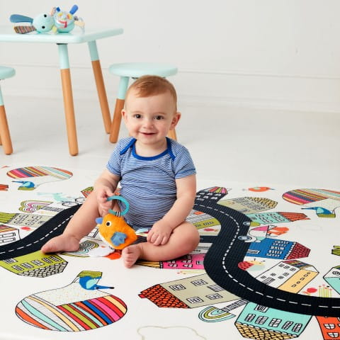 Vibrant Village Doubleplay Reversible Playmat