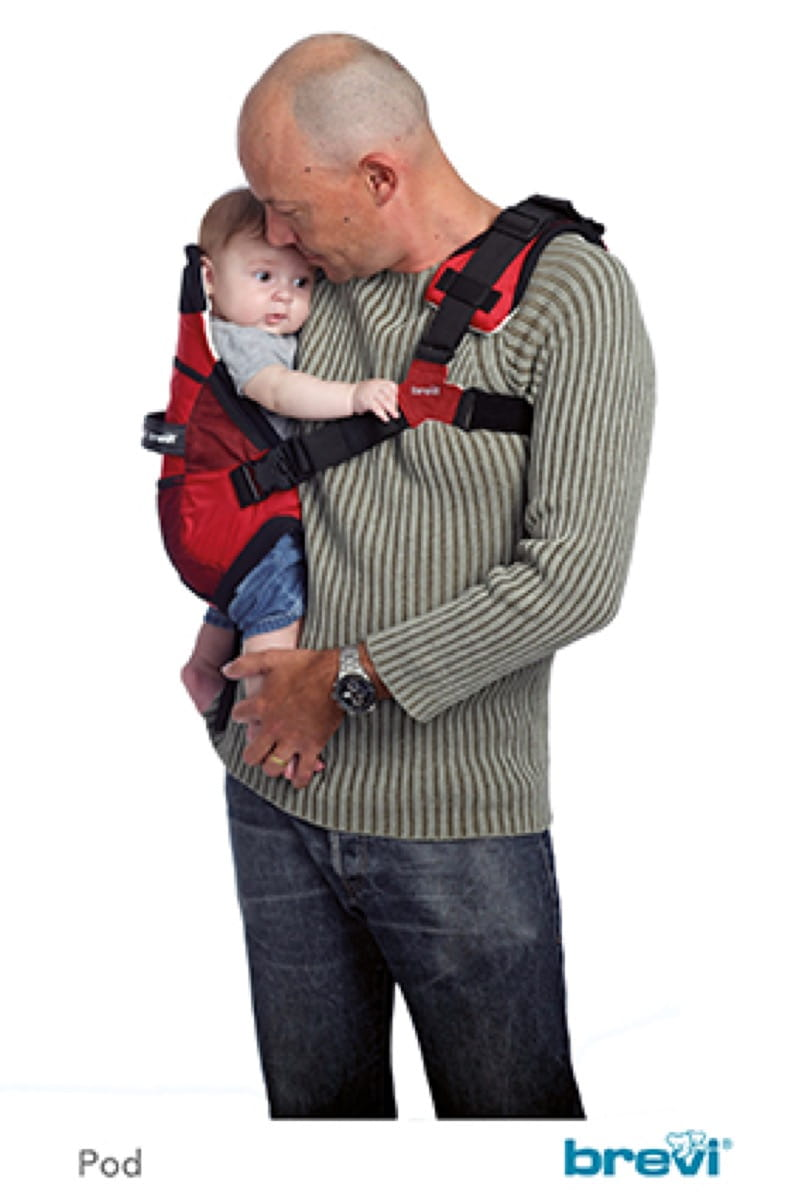 Pod Baby Carrier Cherry Red