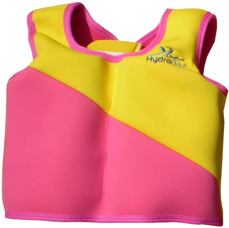Swim Trainer Jacket PINK Size 3 (3-5 yrs)