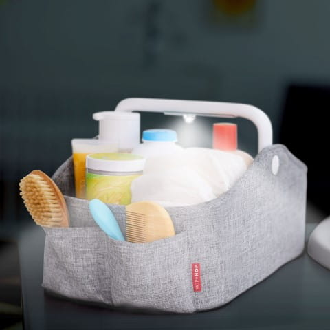 Nursery Style Light Up Diaper Caddy