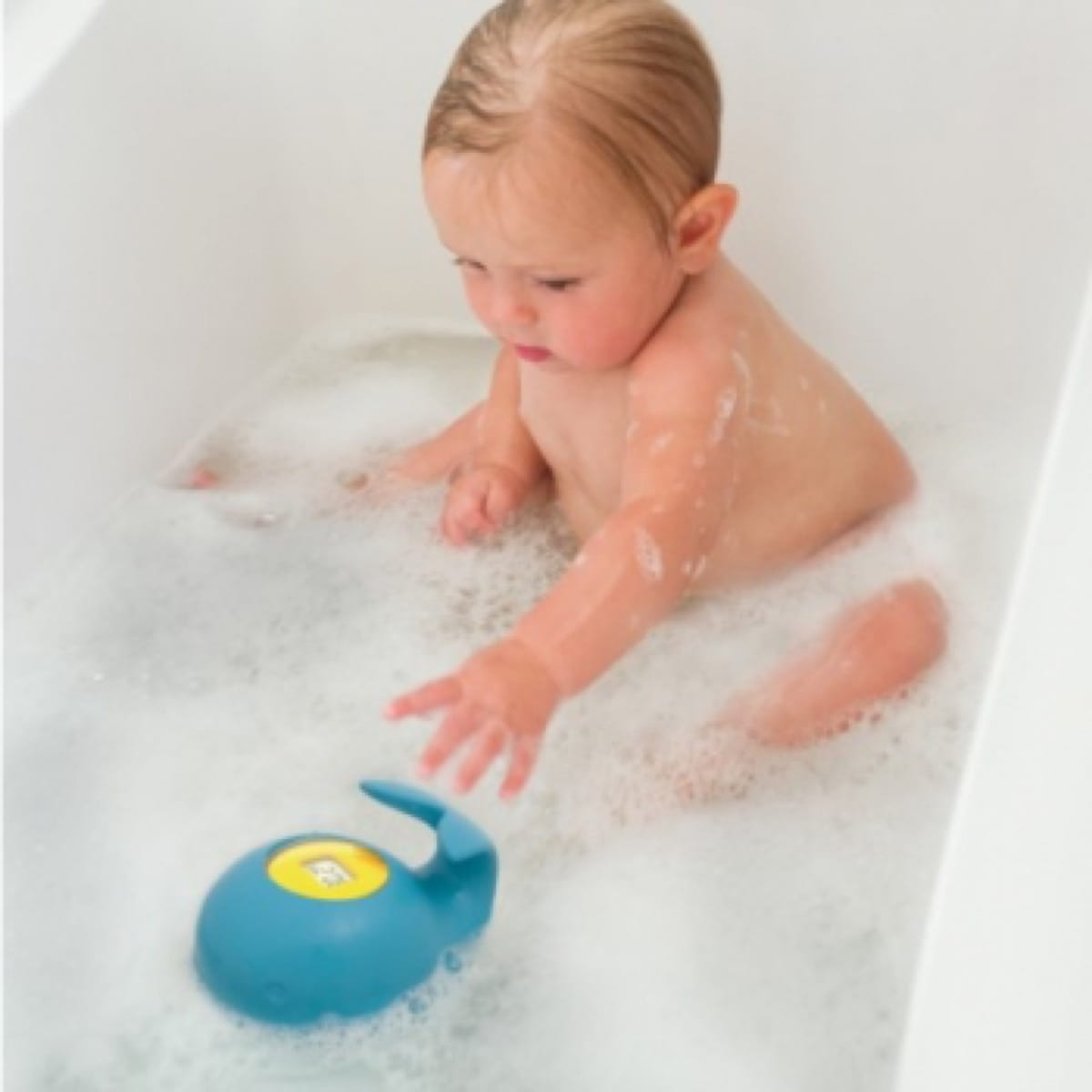 Moby Bath Thermometer  Blue