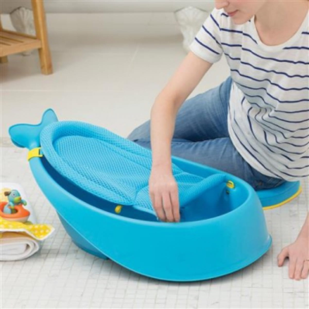 Moby Smart Sling 3-stage Tub Blue