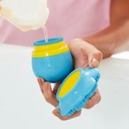 Moby & Friends Silicone Soap Sudsy