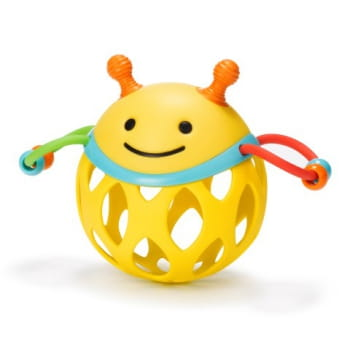 Explore & More Roll Around Rattle Bee