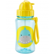 Zoo Straw Bottle - Shark