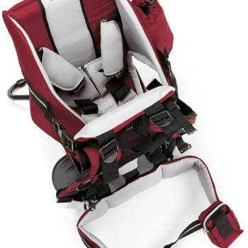 Rocky Back Baby Carrier Amaranth Red