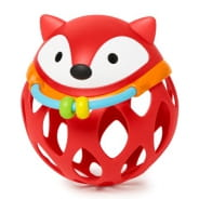 Explore & More Roll Around Rattle Fox