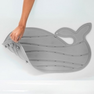 Moby Bath Mat Redesign Grey