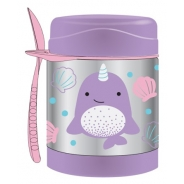 Zoo Insulated Food Jar - Narwhal