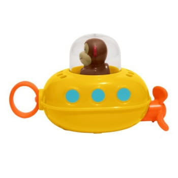 Zoo Pull & Go Submarine Monkey