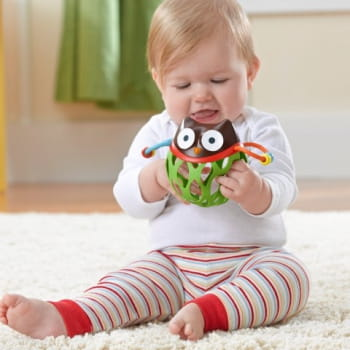 Explore & More Roll Around Rattle Owl