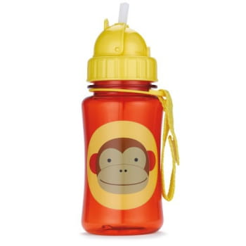 Zoo Straw Bottle Monkey