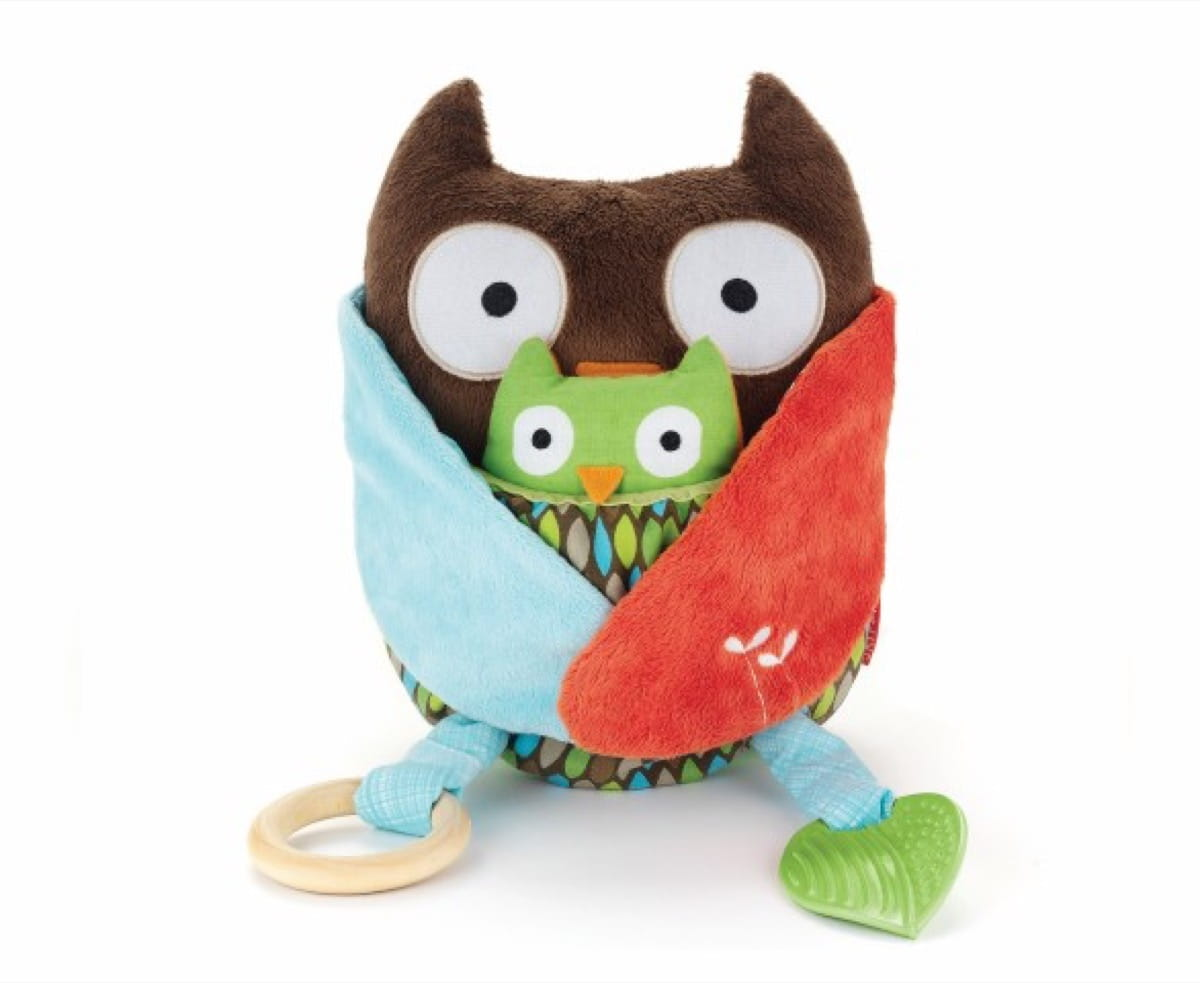 Hug & Hide Activity Toy Owl